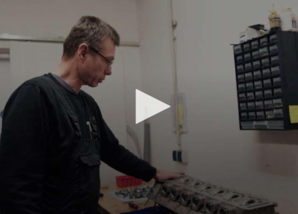 Peschl engine overhaul