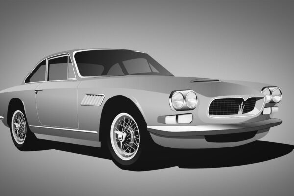 Maserat sebring for sale bw no blur