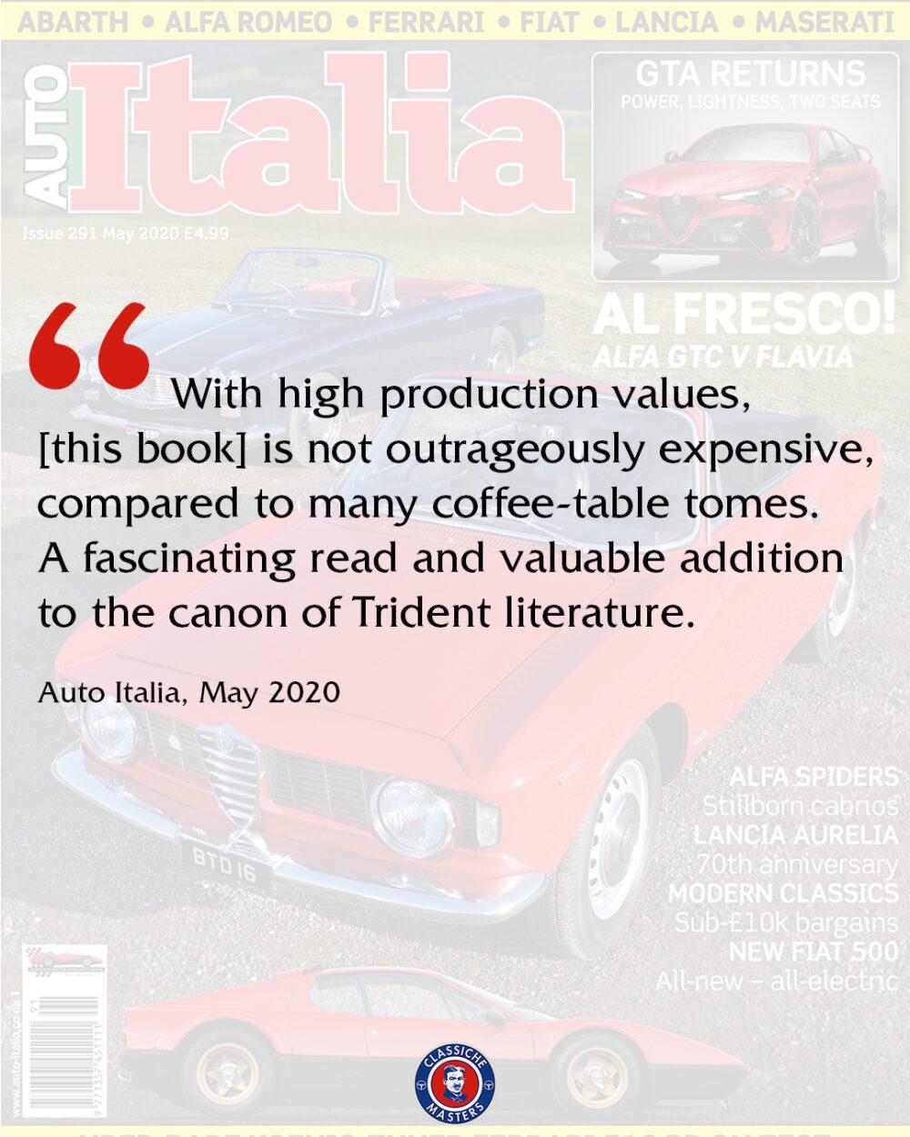 Book review Auto Italia