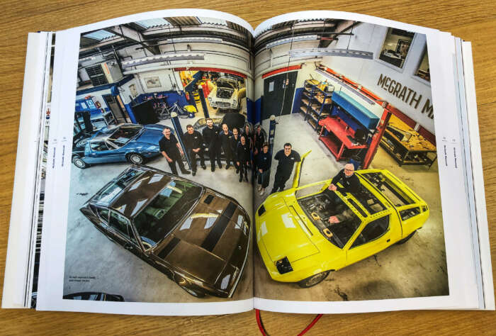 Book: Classiche Masters, the finest workshops for classic Maseratis.