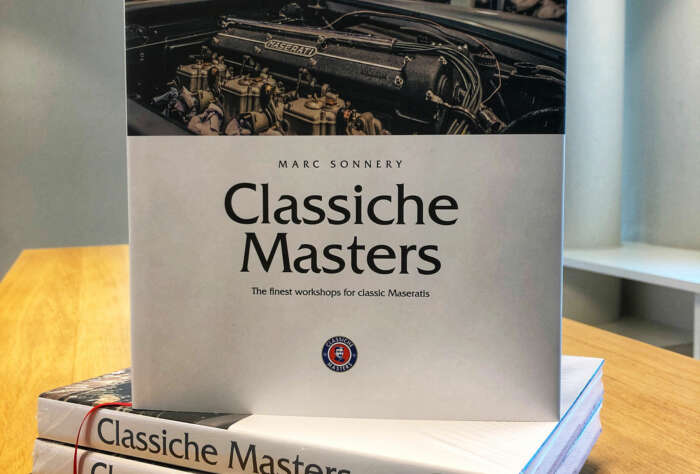 Classiche Masters, the finest workshops for classic Maseratis