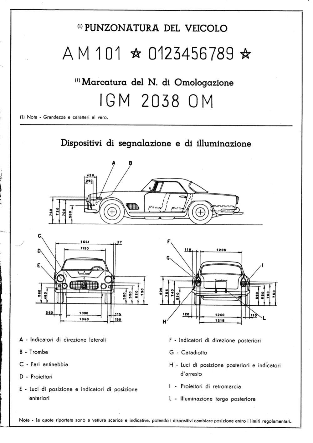 CO 3500 GT 1961 D