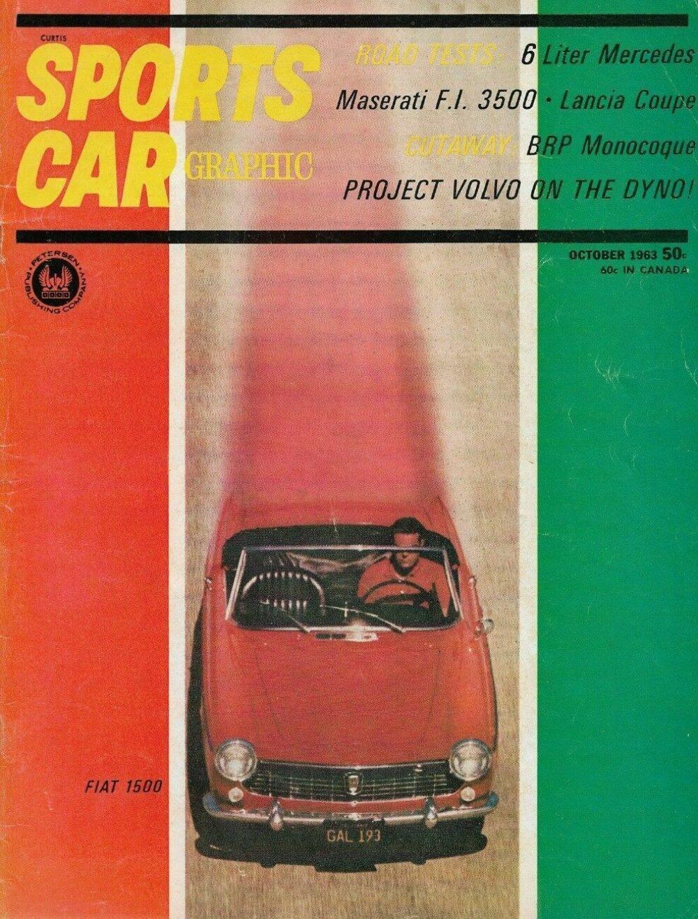 Sports Car Graphic 1963 Oct M B 6 L