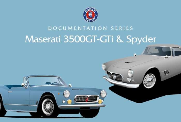 Documentation Series: Maserati 3500 GT-GTi & Spyder (free download - 60 Mb)