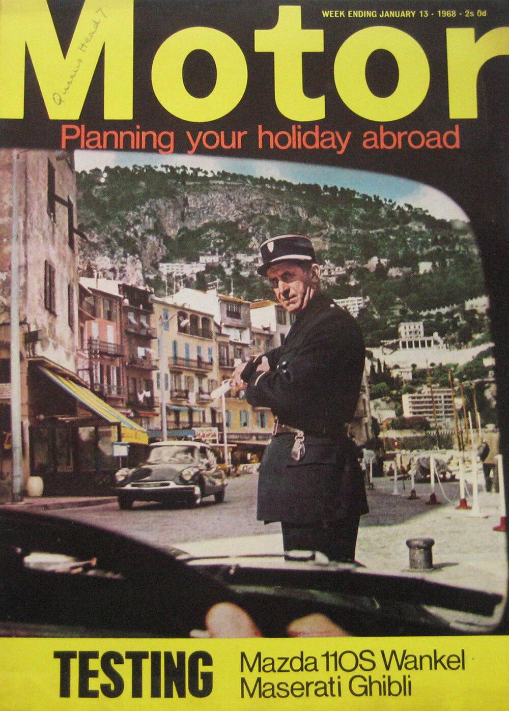 Motor 13 january1968