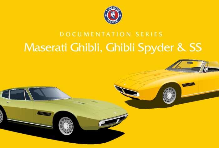 Documentation Series: Maserati Ghibli, Ghibli Spyder including SS (free download - 80 Mb)