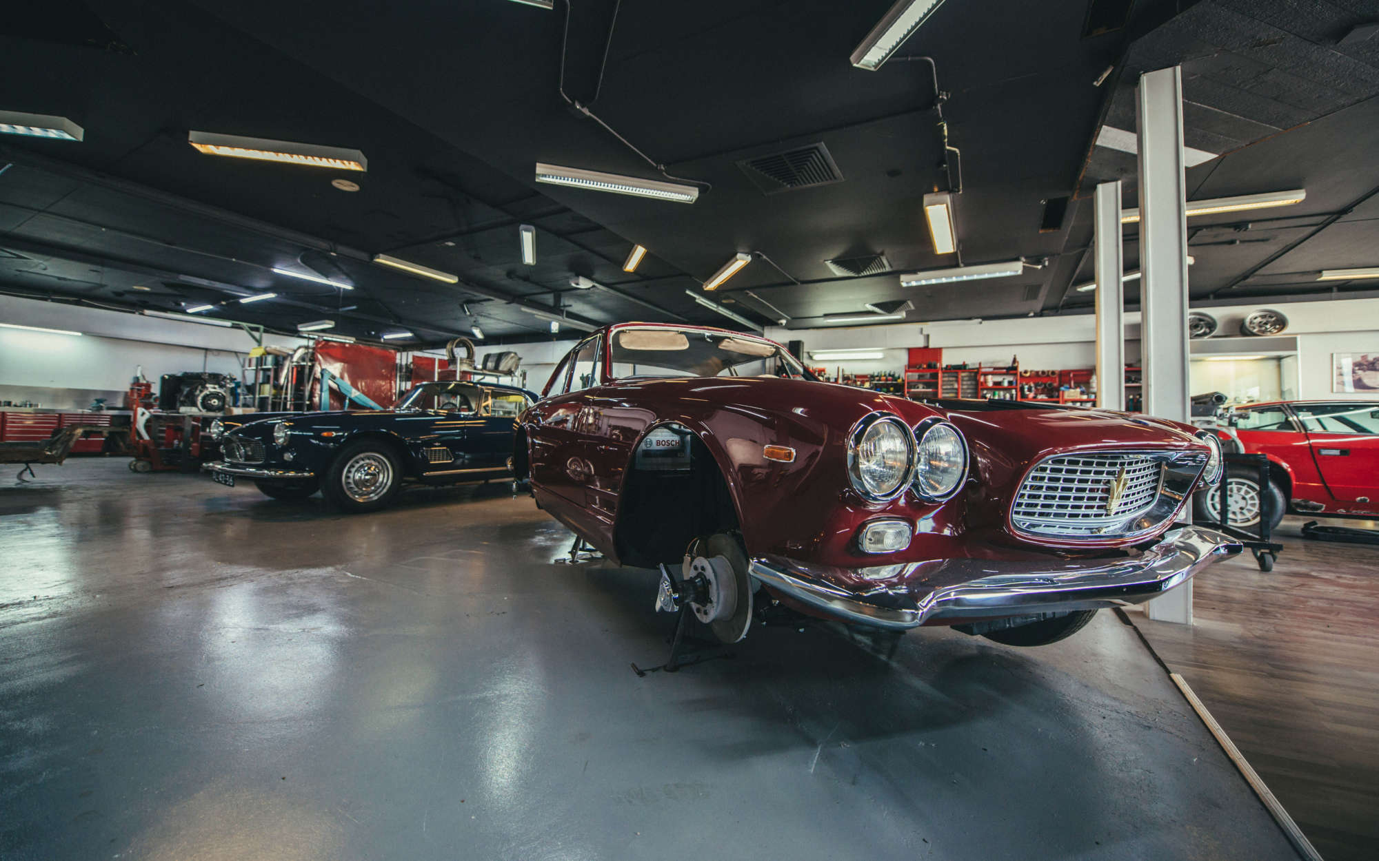 Lapre Maserati workshop header image 6000x3750
