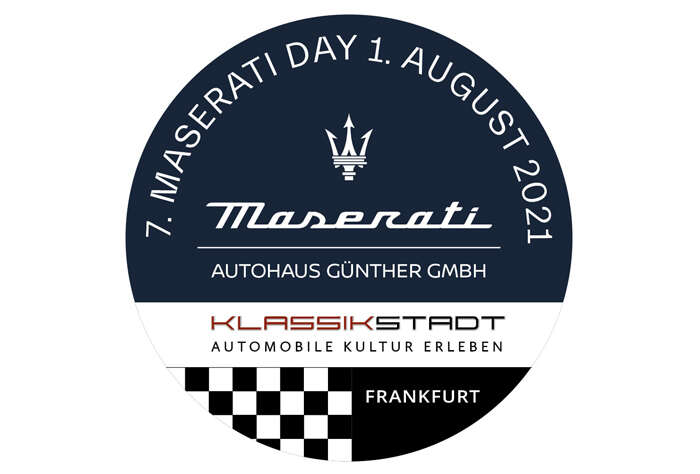 Tell us you're coming to the 7th Maserati Day in Frankfurt.