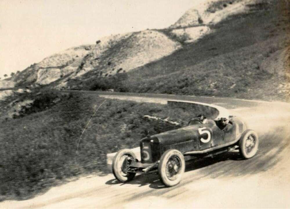 1926 04 25 Targa Florio Maserati Tipo 26 crew