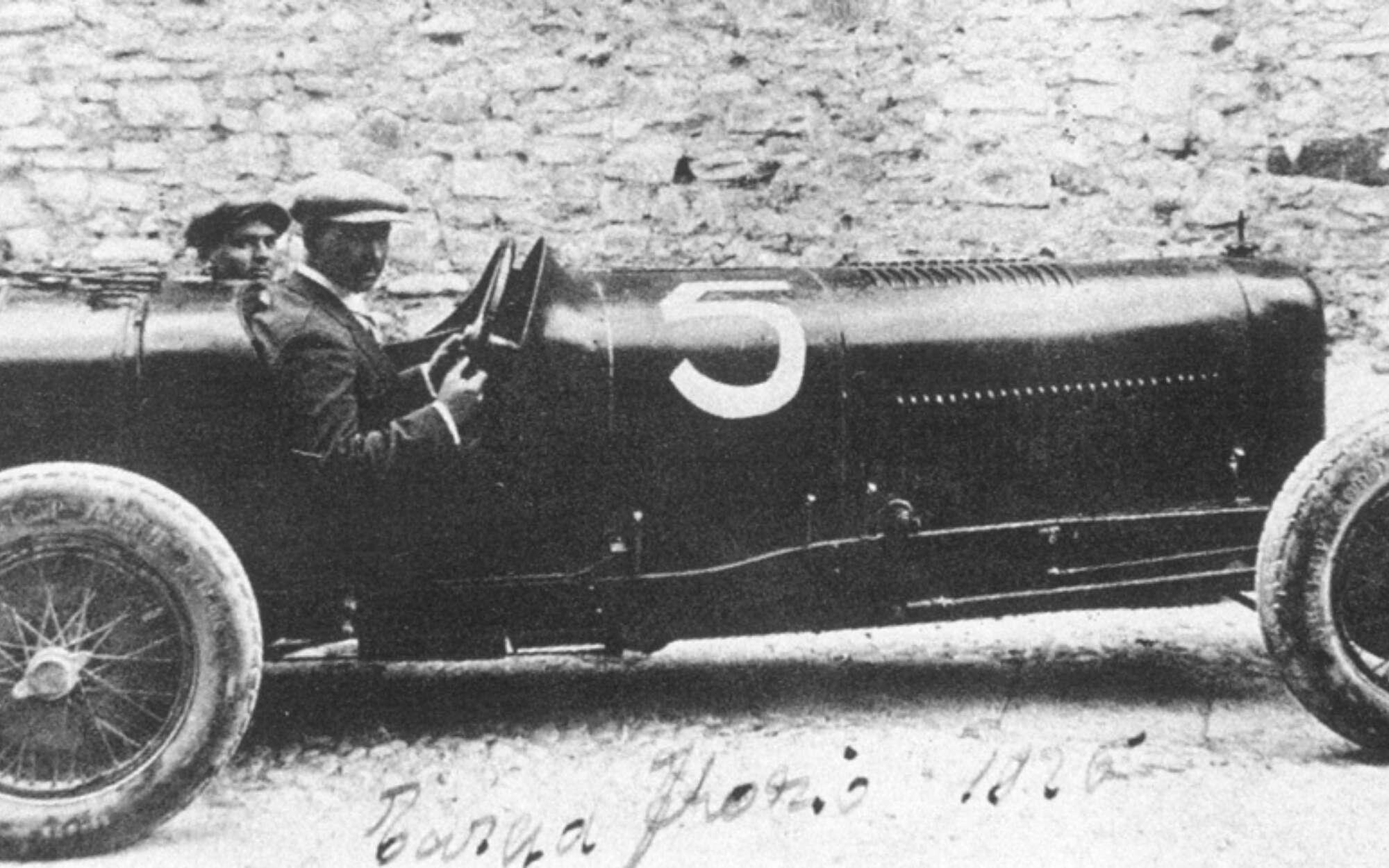 1926 Targa Florio Maserati Tipo26 sn11 Alfieri Maserati