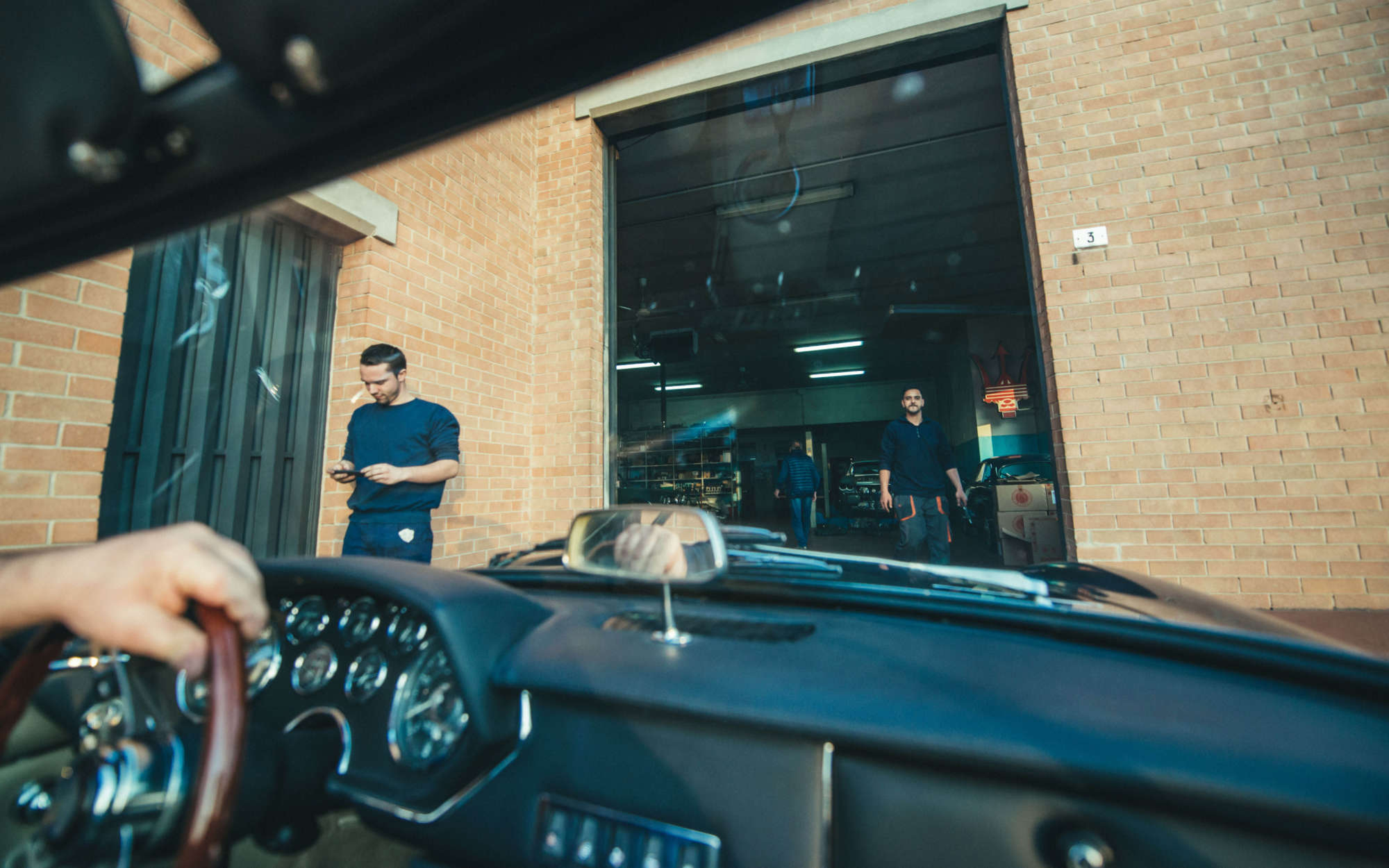 Tralli Maserati Garage footer content images 6000 3750